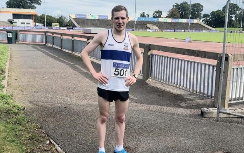 Dunboyne AC's Niall Cornyn at the National Senior 10k – Saturday August 29th