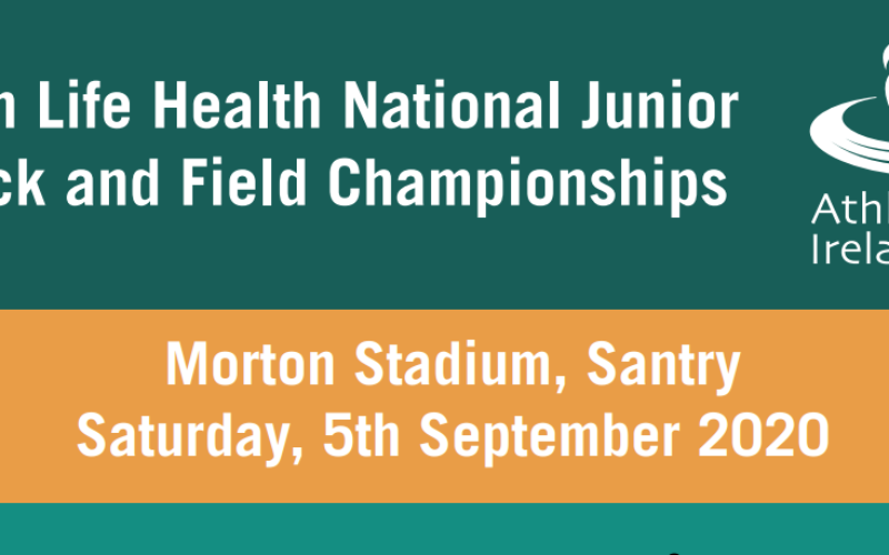 All Ireland Junior Track and Field Championships 2020. Day 1